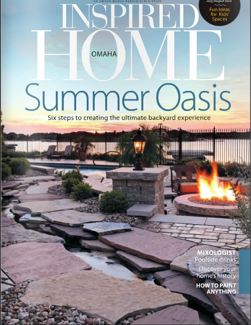 Inspired Home Omaha Magazine, July/August 2012