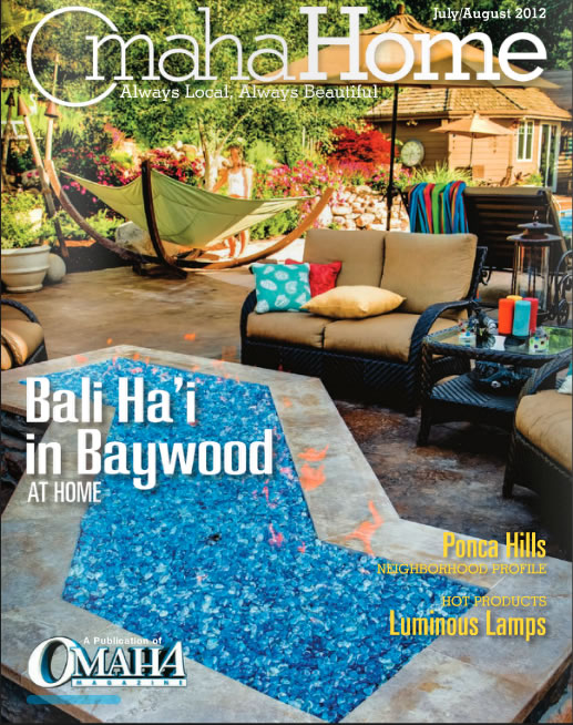 Omaha Home Magazine, July/August 2012